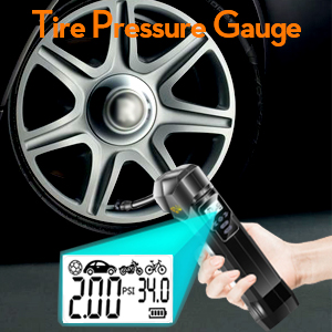 YOULIK BK2 tire pressure gauge function