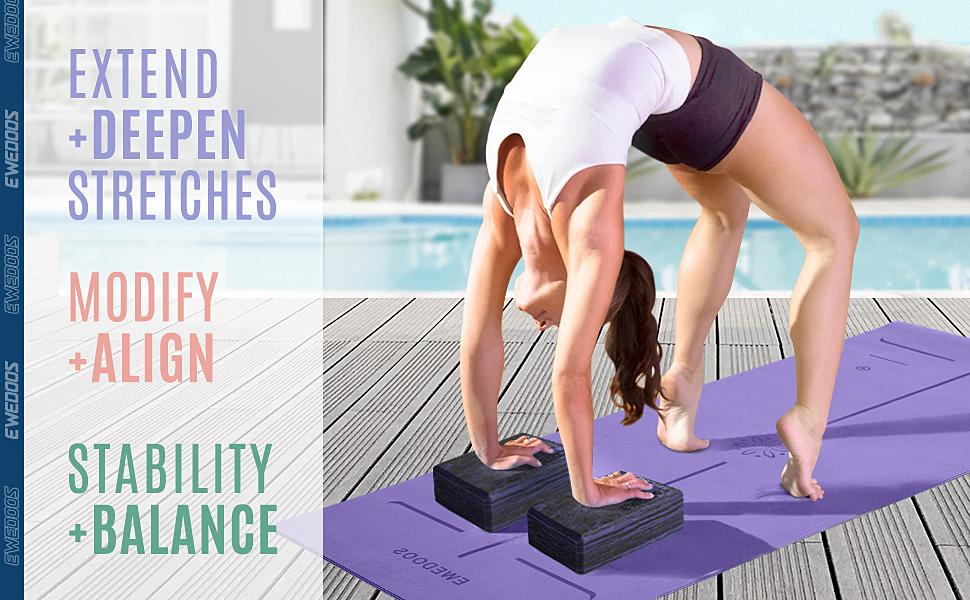 yoga block pack