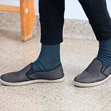 calcetines diabéticos grises