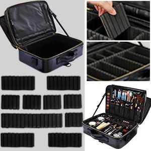 travel makeup bag, travel makeup case, large makeup case, large makeup bag
