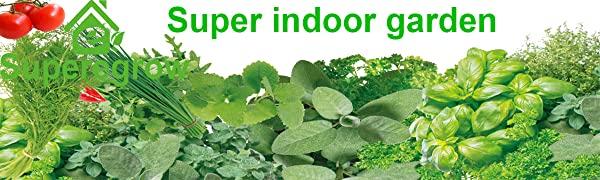 Full series of hydroponic indoor garden