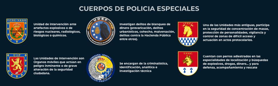 Gemelos para Camisa Comisaría General Policía Científica 18mm: Amazon.es: Ropa y accesorios