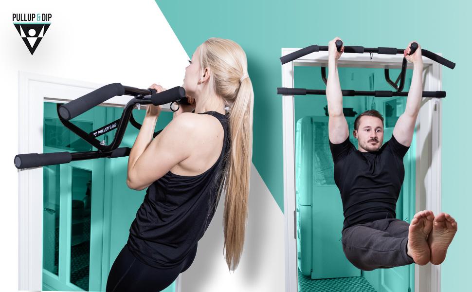 Barre Horizontale De Sports Dint/érieur Pull Up Bar 62-105 cm R/églable Fitness Gym Antid/érapant pour Les Exercices De Sports /À Domicile Fitness SUSSURRO Barre de Traction Porte