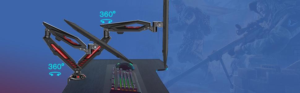 gaming monitor mount
