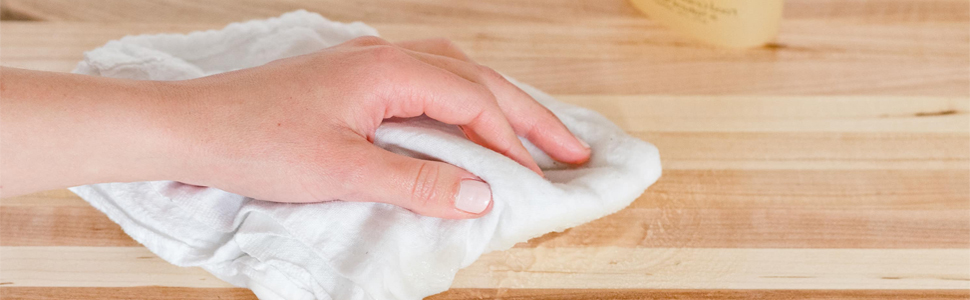 Wipe your countertop
