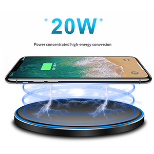 20W wireless charger for xiaomi