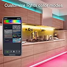 Color changing modes
