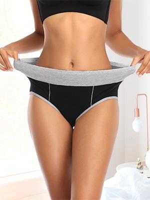 Mid Rise Stretchy Underwear