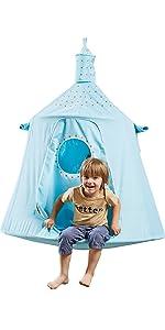 Space capsule tent-Blue