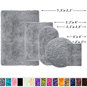 gray rugs for bedroom
