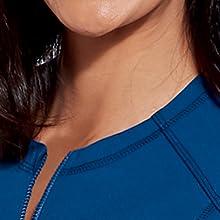 Round collar detail on Barco Grey's Anatomy GIW001 Women's Tempo Scrub Jacket