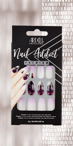 Ardell Nail Addict - Marble Purple Ombre