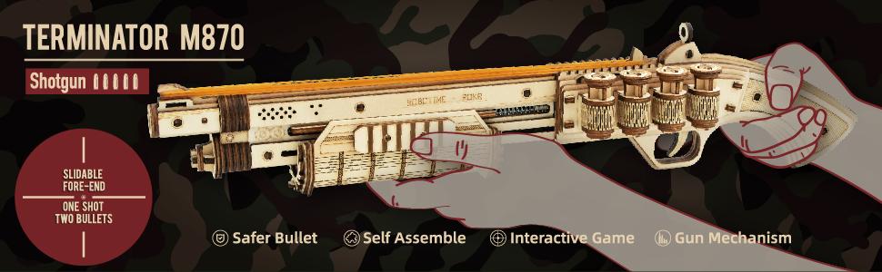 Pistola de juguete realista