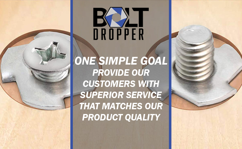 Bolt Dropper Stainless Steel T Nuts