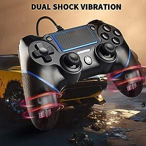 Botón de vibración dual y compartir