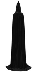 Velvet Black Cloak