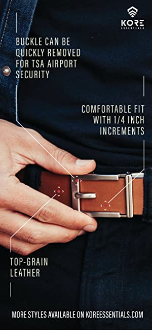 Kore Men S Full Grain Leather Track Belt Epic Alloy Buckle At Amazon Men S Clothing Store Various ratchet buckle styles to choose from, but the mechanism and function is identical. kore men s full grain leather track belt epic alloy buckle