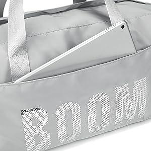 compartiment avant, avant, compartiment, compartiment supplémentaire, sac, sac de sport