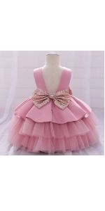 Toddler Wedding Easter Christmas Gown Dress
