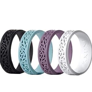 womens KAUAI women's rings silicone