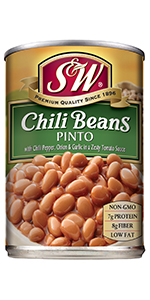 chili beans can bulk canned pinto beans