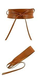 women italian Leather belt