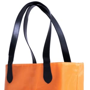 handles, double handles, dasti, bag, orange bag