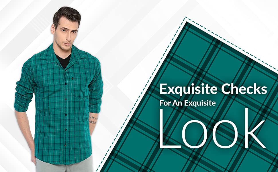 check shirt for men full sleeves checkered men's shirts fashion stylish casual formal levizo cotton