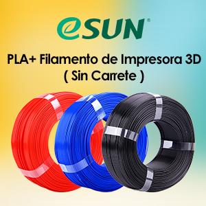 eSUN PLA Plus Filamento de Impresora 3D, Filamento PLA+ 1.75mm ...