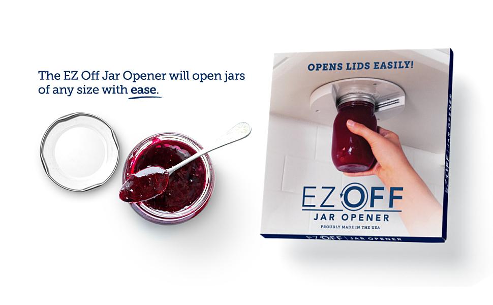 Jam jar EZ Off Jar Opener with package
