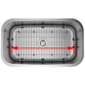 sink metal protector