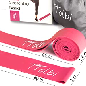 elastic band for stretching gymnast gifts for girls stretch straps with loops cheer stretch bands