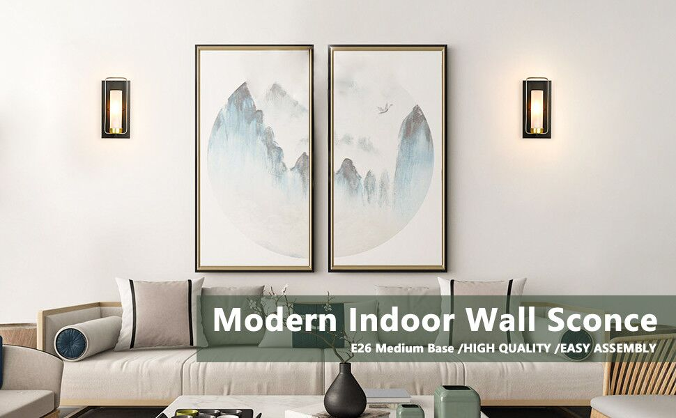 modern indoor wall sconce