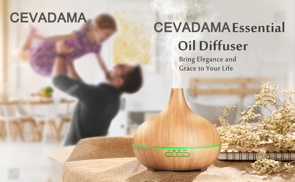 essential oil diffuser 500ml diffusers for essential oils large room sleep