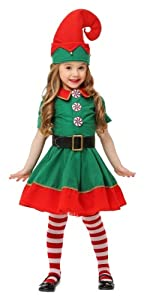 Toddler Holiday Elf Costume, Elf Costume, Toddler Costume