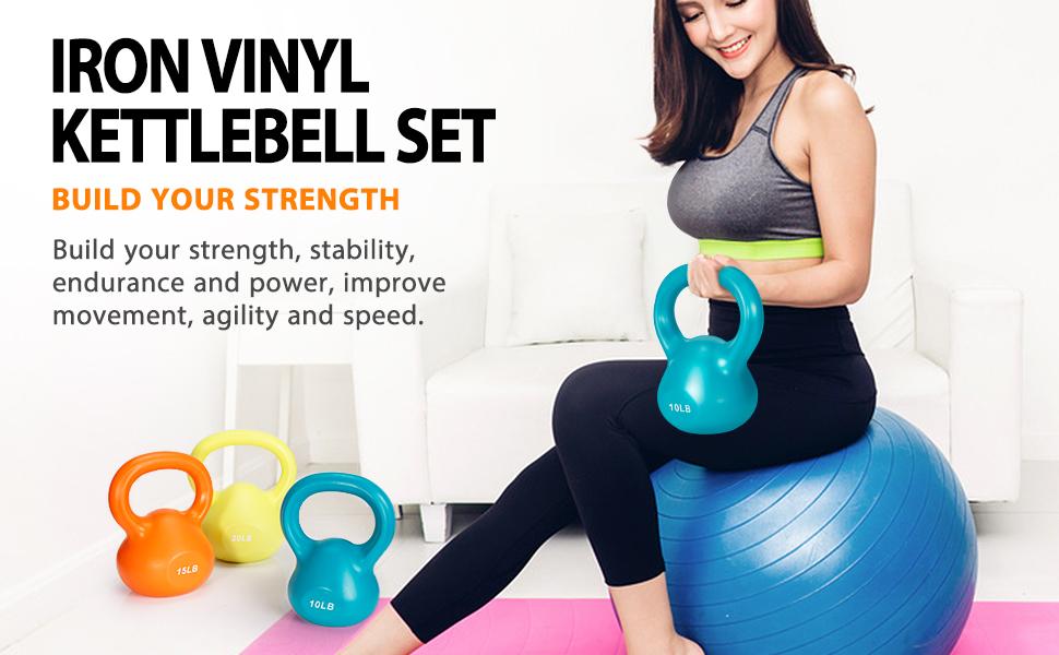 Weights Kettlebell set Kettlebells Exercise Kettlebell Set