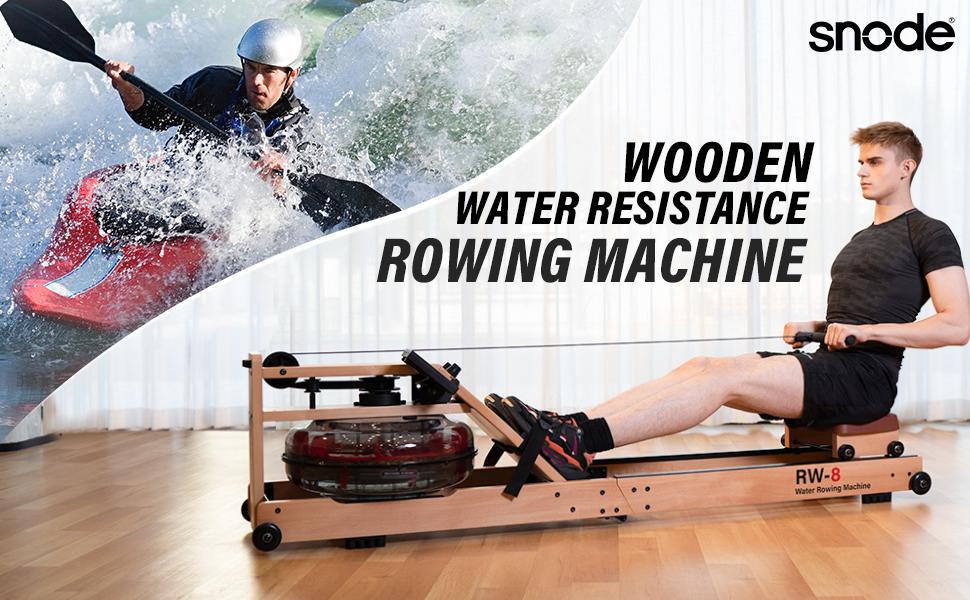 SNODE WOOD WATR ROWER MACHINE