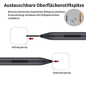 Mpio Microsoft Surface Pen Surface Stylus Pen With Elektronik