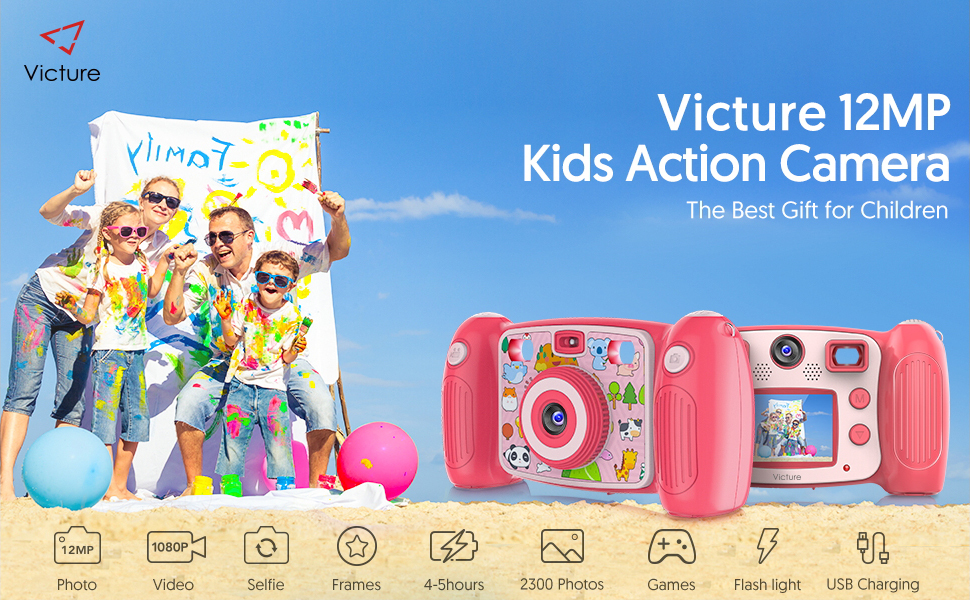 Victure Kids Action Camera KC400