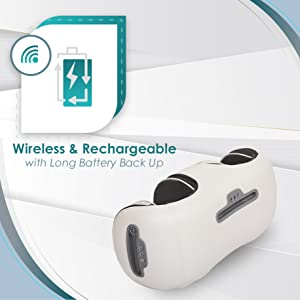 wireless rechargeable knee massager