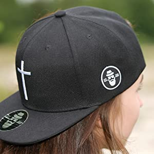 DonnyFat Anker Cap Snapback Loyalit/ät Grau Schwarz One Size Unisex