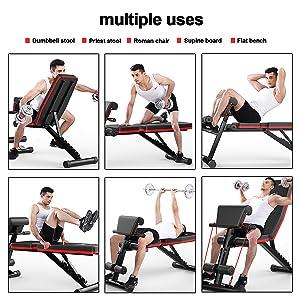 bench adjustable