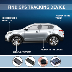 Find GPS tracking device