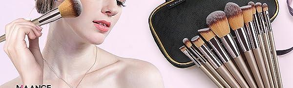MAANGE Professional Makeup Brushes Set