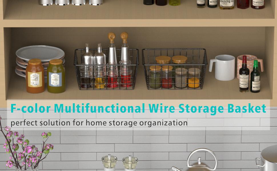 wire storage organizer