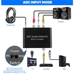 HDMI ARC Audio Extractor