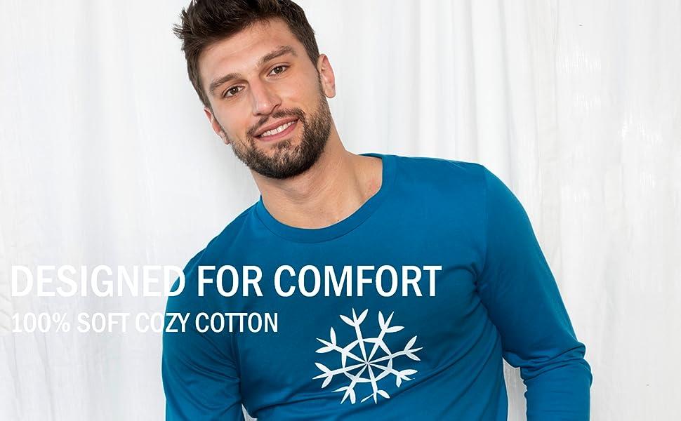 Leveret, Men's pajamas, cotton pajamas