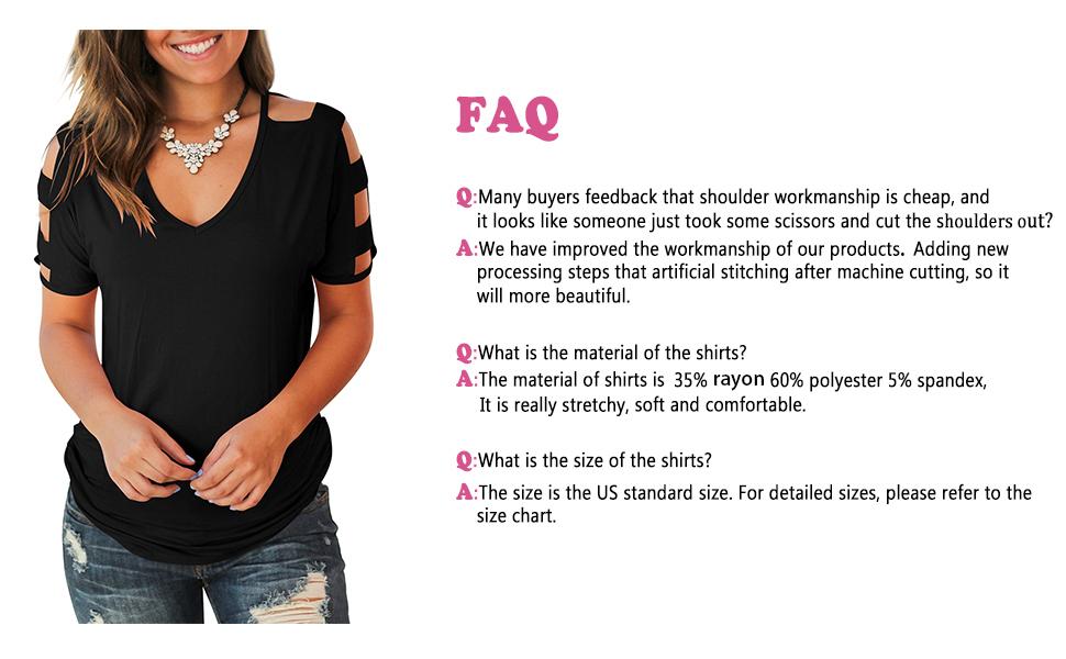cold shoulder tops for women
