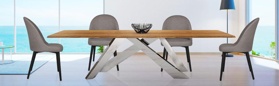 Koreyosh Leisure Chair Set of 4