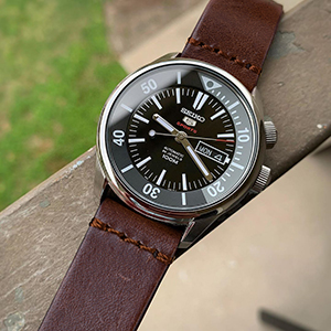vintage leather watch band